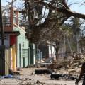 Víctimas del huracán Matthew en Haití