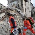 Víctimas del terremoto en Italia